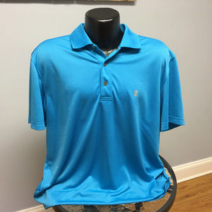 Deep Sky Blue IZOD Golf Polo Shirt